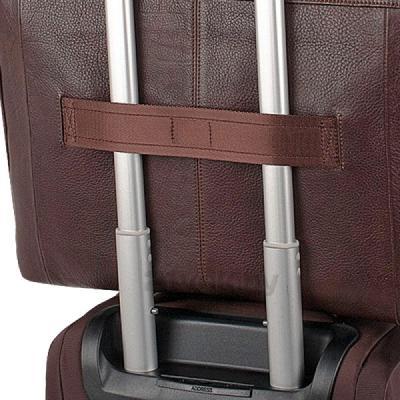 Сумка для ноутбука Piquadro Vibe (CA1744VI/TM) - крепление на чемодане