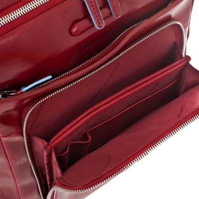 Рюкзак для ноутбука Piquadro Blue Square (CA1813B2/R) - малое отделение