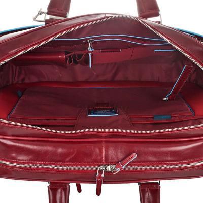 Сумка для ноутбука Piquadro Blue Square (BV2926B2/R) - внутри