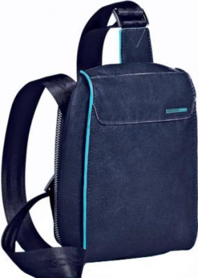 Мужская сумка Piquadro Blue Square (CA1270B2/BLU2) - вид спереди