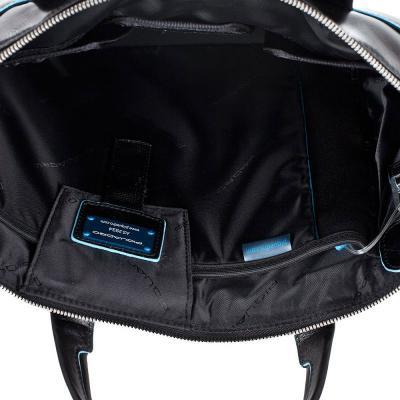Сумка для ноутбука Piquadro Blue Square (CA1618B2/N) - в раскрытом виде