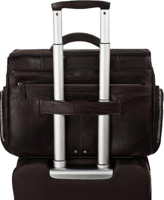 Сумка для ноутбука Piquadro Jazz (CA1805W17/M) - крепление на чемодане