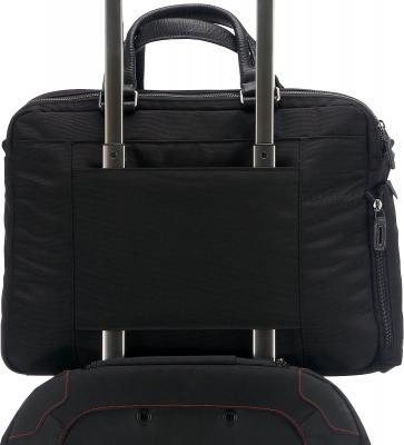 Сумка для ноутбука Piquadro Signo (CA1906SI/TM) - крепление на чемодане