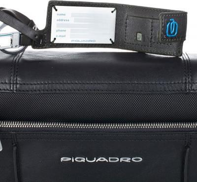 Сумка для ноутбука Piquadro Link (CA2224LK/BLU2) - адресная карточка