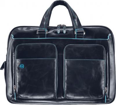 Сумка для ноутбука Piquadro Blue Square (CA2765B2/BLU2) - вид спереди
