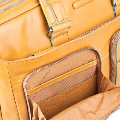 Сумка для ноутбука Piquadro Blue Square (CA2765B2/G) - боковой карман