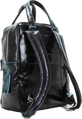 Рюкзак для ноутбука Piquadro Blue Square (CA2912B2/BLU2) - вид сзади
