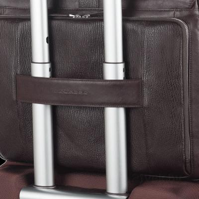 Рюкзак для ноутбука Piquadro Kripto (CA2913S59/TM) - крепление на чемодане