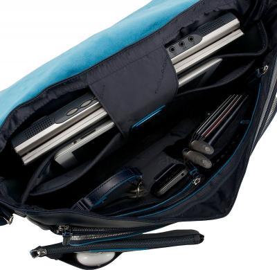 Сумка для ноутбука Piquadro Blue Square (CA2949B2/BLU2) - внутри