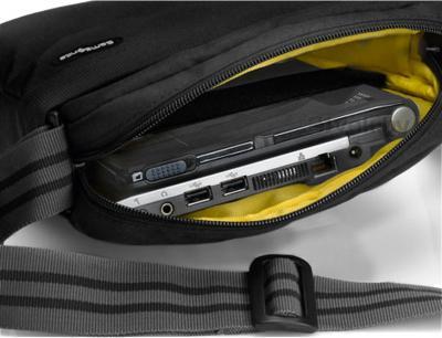 Сумка для ноутбука Samsonite Network (V76*09 007) - с ноутбуком внутри