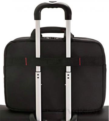 Сумка для ноутбука Samsonite GuardIT (88U*09 002) - крепление на чемодане