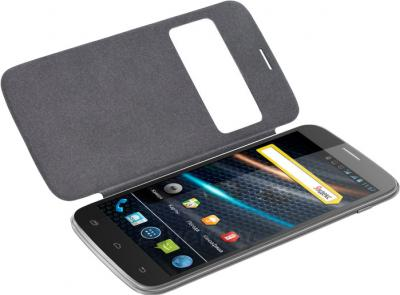 Смартфон Explay A600 (Black) - с чехлом