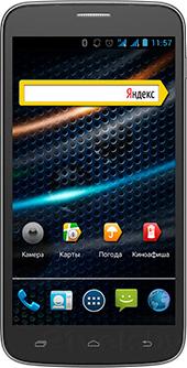 Смартфон Explay A600 (Black) - общий вид