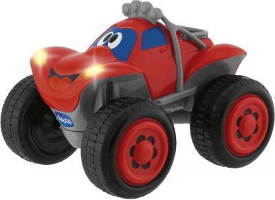 Радиоуправляемая игрушка Chicco Билли - большие колеса 617592 (красная) - общий вид