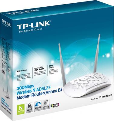 Беспроводной маршрутизатор TP-Link TD-W8961NB - коробка