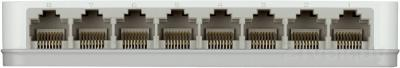 Коммутатор D-Link DGS-1008A/C1A - вид сзади