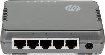 Коммутатор HP J9791A - вид сзади