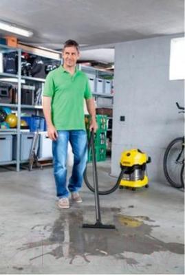 Пылесос Karcher MV 4 Premium / WD 4 Premium (1.348-151.0) - всасывание жидкостей