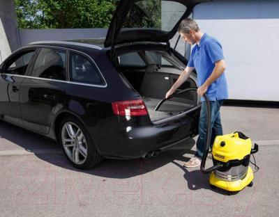 Пылесос Karcher MV 4 Premium / WD 4 Premium (1.348-151.0) - уборка автомобиля