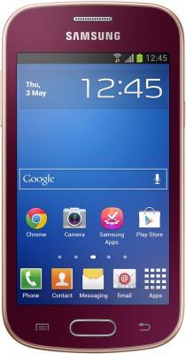 Смартфон Samsung Galaxy Trend Lite / S7390 (красный) - общий вид