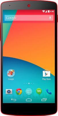 Смартфон LG Nexus 5 16Gb / D821 (красный) - общий вид