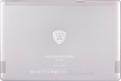 Планшет Prestigio MultiPad Visconte 32GB 3G (PMP810E3GWH) - вид сзади