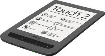 Электронная книга PocketBook Touch Lux 2 / 626 (серый) - общий вид