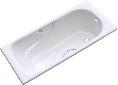 Ванна чугунная Goldman ZYA-9C-5 Donni 150x75 - общий вид