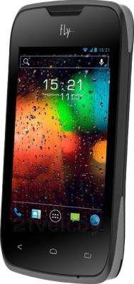 Смартфон Fly IQ431 (Black) - общий вид