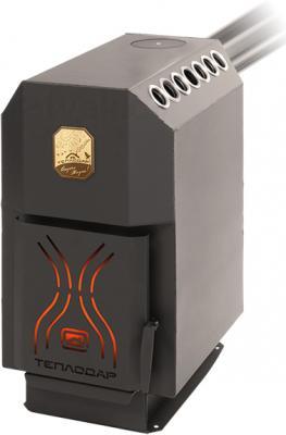 Печь отопительная Теплодар ТОП 200 (со стальной дверцей) - общий вид