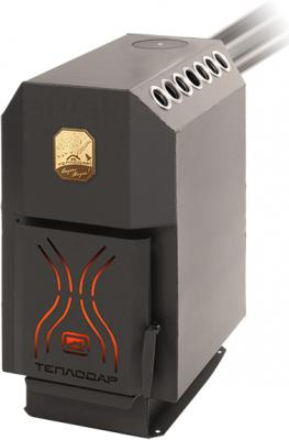 Печь отопительная Теплодар ТОП 200 (с чугунной дверцей) - общий вид
