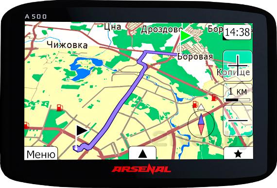 GPS A500 ver.2 21vek.by 850000.000