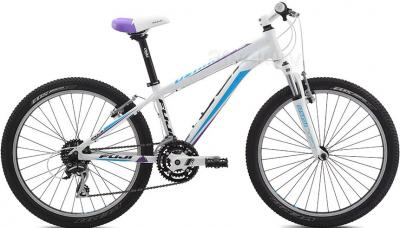Велосипед Fuji Dynamite 24 Pro Girls (13, White, 2014) - общий вид