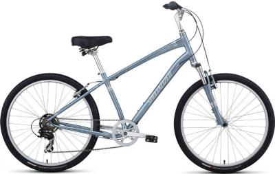 Велосипед Specialized Expedition Sport (M, Blue-White-Silver, 2014) - общий вид
