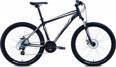 Велосипед Specialized Hardrock Disc (M/17.5, Black-White, 2014) - общий вид