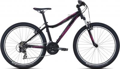 Велосипед Specialized Myka HT (M/17, Black-Pink, 2014) - общий вид
