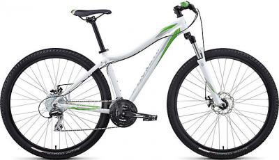 Велосипед Specialized Myka HT Disc 29 (M, White-Green, 2014) - общий вид