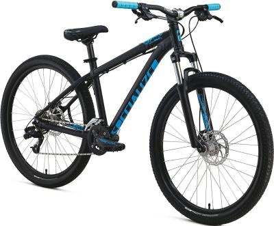 Велосипед Specialized P Street 1 (M/17.5, Black-Cyan, 2014) - общий вид