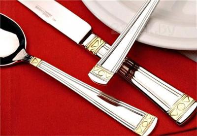 Набор столовых приборов BergHOFF Nova Gold 1291338 - крупным планом