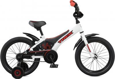 Детский велосипед Trek Jet 16 Boy's (16, White-Black-Red, 2014) - общий вид