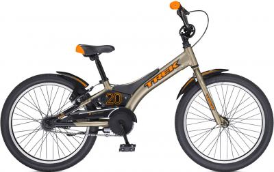 Детский велосипед Trek Jet 20 Boy's (20, Brass-Orange, 2014) - общий вид