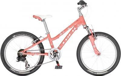 Детский велосипед Trek MT 60 Girl's (20, розовый, 2014) - общий вид