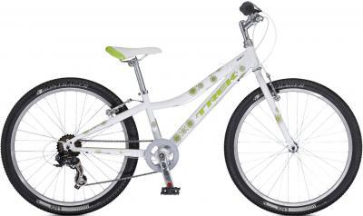 Велосипед Trek MT 200 Girl's (24, White-Green, 2014) - общий вид