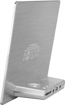 Цифровая фоторамка TeXet TF-805 (Silver) - вид сбоку