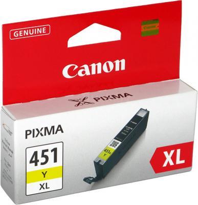 Картридж Canon CLI-451XLY - общий вид