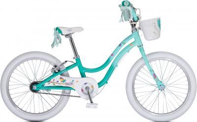 Детский велосипед Trek Mystic 20 Girl's (20, Green, 2014) - общий вид