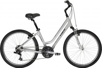 Велосипед Trek Shift 2 WSD (16.5L, Sparkling Silver, 2014) - общий вид