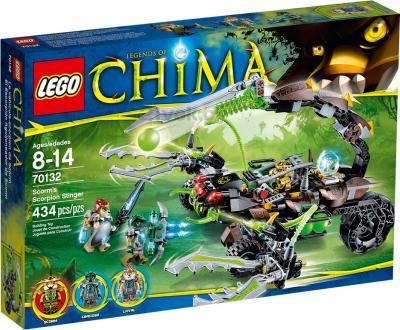 Конструктор Lego Chima Жалящая машина скорпиона (70132) - упаковка