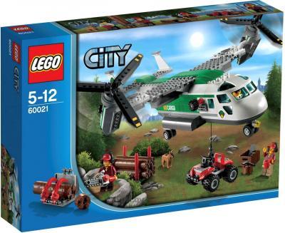 Конструктор Lego City Грузовой конвертоплан (60021) - упаковка