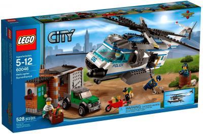 Конструктор Lego City Вертолётный патруль (60046) - упаковка